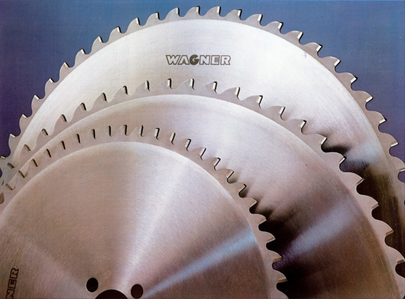 carbide tipped blade. three carbide saw blades tipped blade